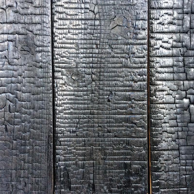 天竜焼杉・平板